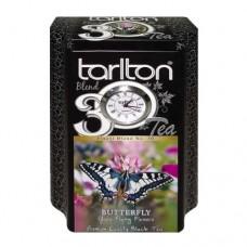 Чай черный Tarlton Тарлтон Бабочка 200г жесть банка