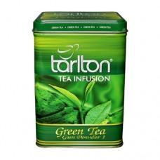 Чай зеленый Tarlton Тарлтон ГП 250г жесть банка