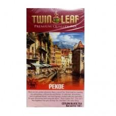 Чай Twin Leaf чёрный Пекое 100г