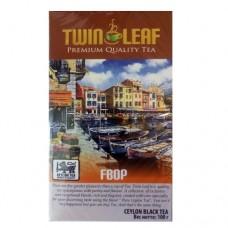 Чай Twin Leaf черный FBOP 100г