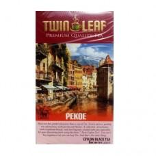 Чай Twin Leaf чёрный Пекое 200г