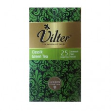Чай Vilter Вилтер Классикий зеленый 25 сашет