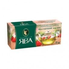 Чай Принцесса Ява зеленый Клубничное настроение 25 пакетов