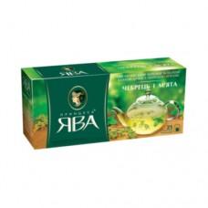 Чай Принцесса Ява зеленый Чебрец мята 25 пакетов