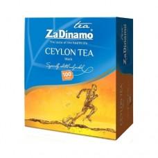 Чай ZaDinamo За Динамо черный 100 пакетов